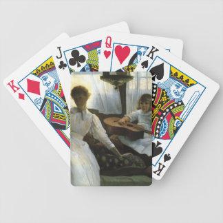 Julian Alden Weir- Idle Hours Poker Deck