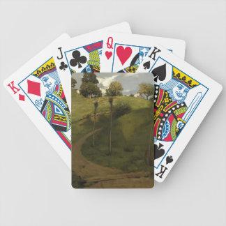 Julian Alden Weir- Lengthening Shadows Bicycle Playing Cards