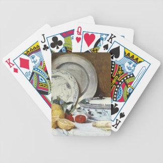 Julian Alden Weir- Still Life Bicycle Poker Deck