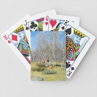 Julian Alden Weir- The Birches Card Decks