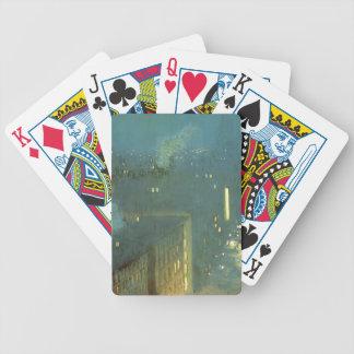 Julian Alden Weir- The Bridge Nocturne Playing Cards