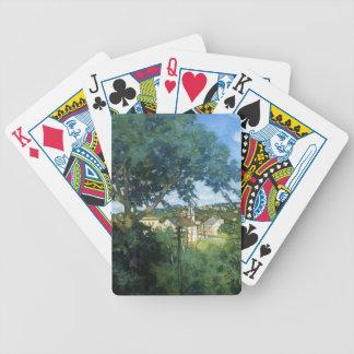 Julian Alden Weir- The Factory Village Bicycle Card Deck