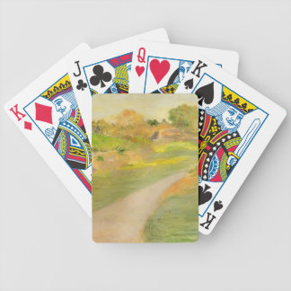 Julian Alden Weir- The Road to No Where Bicycle Playing Cards