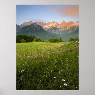 Julian Alps View Poster