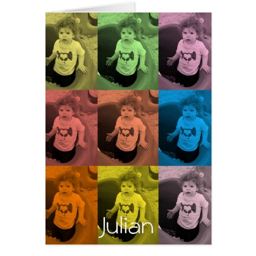 Julian card - style