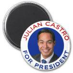 Julian Castro For President Fridge Magnet