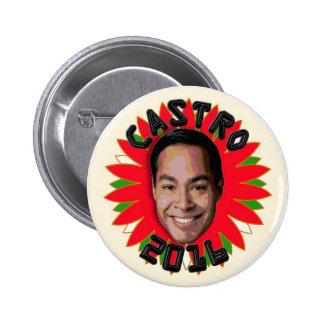 Julian Castro Pinback Button