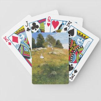 Julian Weir-Summer Afternoon, Shinnecock Landscape Bicycle Card Decks