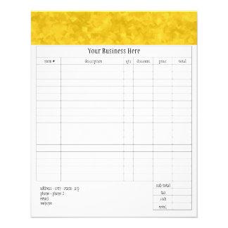Julianna Small Order Form Flyer