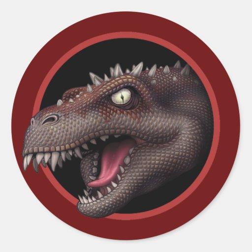 Julianosaurus Priyex Classic Round Sticker