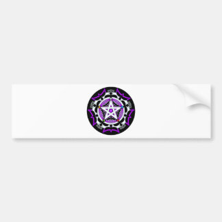 Julia's Crow Pentacle Bumper Sticker