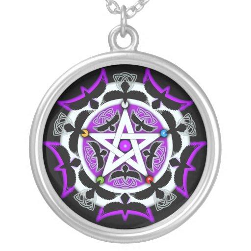 Julia's Crow Pentacle Necklace