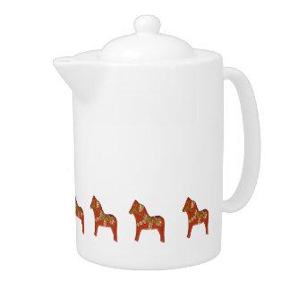 Julia's Dala Horse Teapot