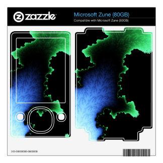 Julia's Joy, Fractal Blobs - Green Blue Black Skins For The Zune
