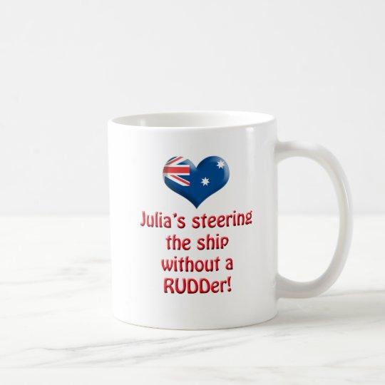Julia's Steering The Ship Coffee Mug