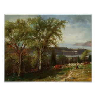 Julie Beers-Hudson River at Croton Point Poster