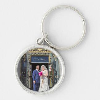 Julie + Brett's Wedding Keychain