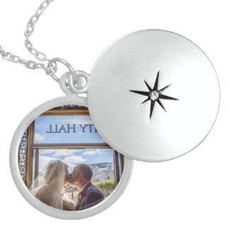 Julie + Brett's Wedding Locket Necklace