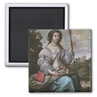 Julie d'Angennes  as Astree 2 Inch Square Magnet