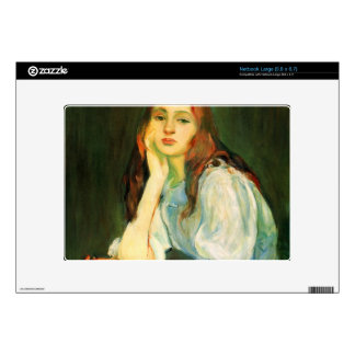 Julie dreaming by Berthe Morisot Skins For Netbooks