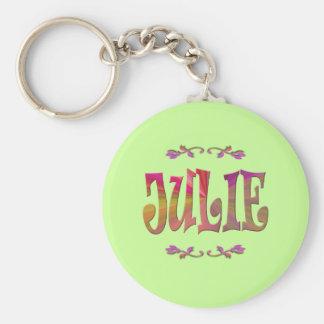 Julie Keychain