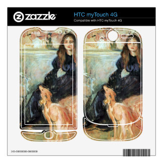 Julie Manet and her greyhound Laertes by Morisot Skins For HTC myTouch 4G