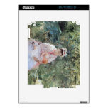 Julie Manet by Berthe Morisot iPad 2 Decals
