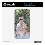 Julie Manet by Berthe Morisot Decals For The iPhone 4S
