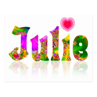 Julie Postcard