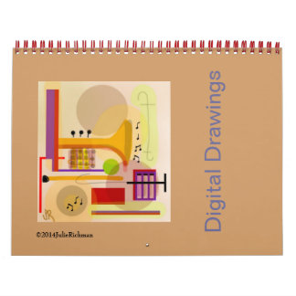 Julie Richman Digital Drawing Calendar