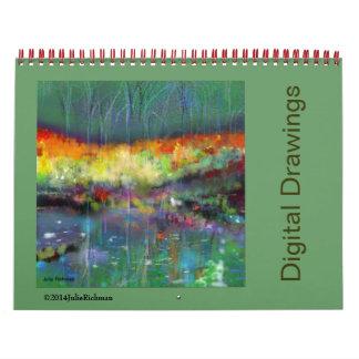 Julie Richman Digital Drawings Calendar