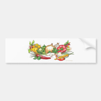 @JulieAnnStricklinVeggies Bumper Sticker