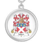 Julien Family Crest Necklaces