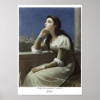 Juliet at the balcony CC0150 Philip H Calderon Poster