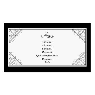 Juliet Double-Sided Standard Business Cards (Pack Of 100)