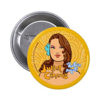Juliet Circus - Beatrix Arguti Button