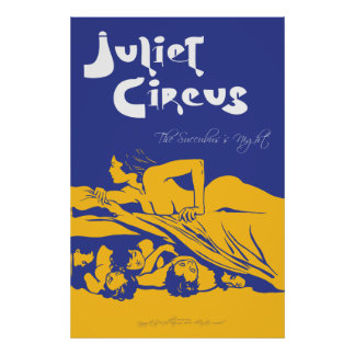 Juliet Circus - The Succubus's Night Poster