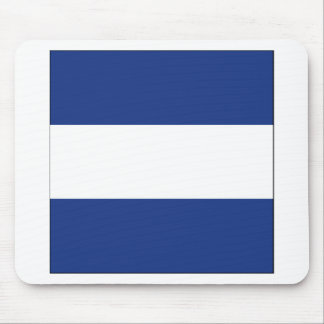 Juliet (J) Signal Flag Mouse Pad