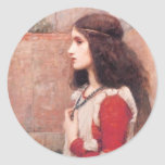 Juliet Pegatinas Redondas