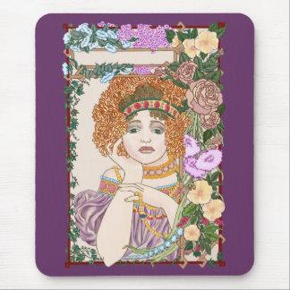 Juliet's Flower Bower Mouse Pad