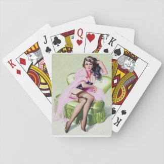 Juliette, 2007 Pin Up Art Playing Cards
