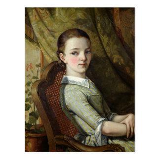 Juliette Courbet  1844 Postcard