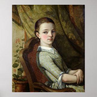 Juliette Courbet  1844 Poster