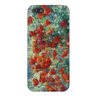 Juliette Wytsman Jardín de flores iPhone 5 Cárcasas