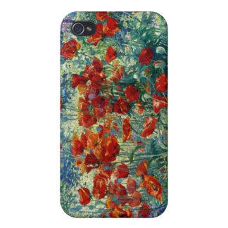 Juliette Wytsman Jardín de flores iPhone 4 Protector