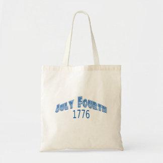 Julio azul Fouth 1776 Bolsa De Mano