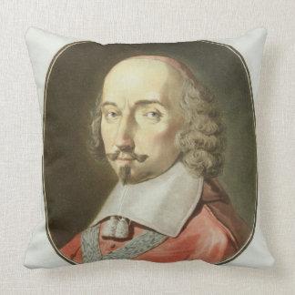 Julio cardinal Mazarin (1602-61) de los 'retratos  Almohadas