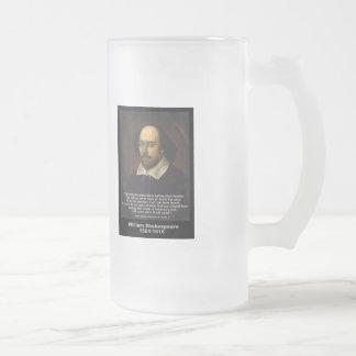 ~ Julio César de la cita de Shakespeare Taza De Cristal