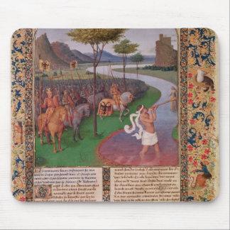Julio César que cruza el Rubicon, c.1470 Mousepads