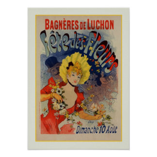 Julio Chéret anuncio 1890 Impresiones